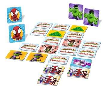 Marvel Super Hero Adventures Matching ® Game Games;Children's Games - image 4 - Ravensburger
