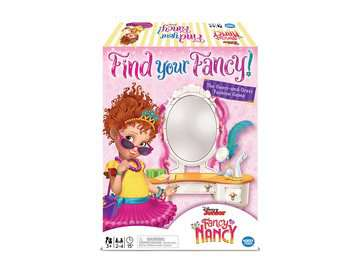 Disney Junior Fancy Nancy Find your Fancy! Games;Children's Games - image 1 - Ravensburger