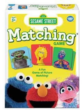 Sesame Street® Matching Game Games;Children's Games - image 1 - Ravensburger