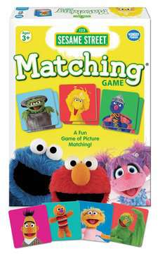 Sesame Street® Matching Game Games;Children's Games - image 2 - Ravensburger