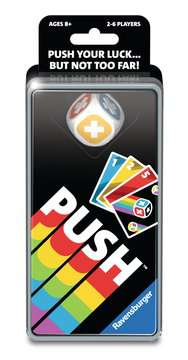 PUSH Card Game Games;Family Games - image 1 - Ravensburger