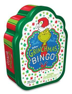 Dr. Seuss™ Grinchmas Bingo Games;Children's Games - image 1 - Ravensburger
