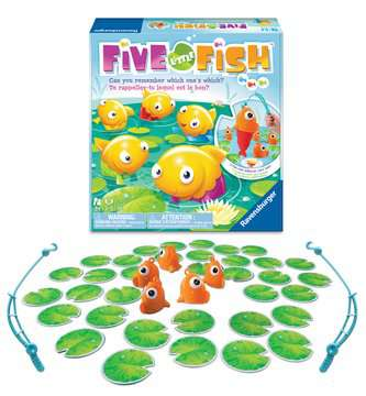 Five Little Fish™ Game, Bilingual Games;Children's Games - image 3 - Ravensburger
