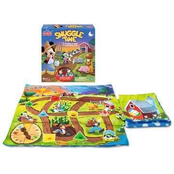 Disney Mickey Mouse Snuggle Time™ Games;Children's Games - image 4 - Ravensburger