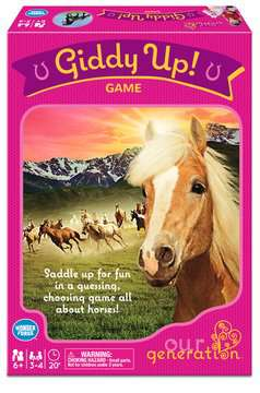 Our Generation®  Giddy Up! Game Games;Children's Games - image 1 - Ravensburger