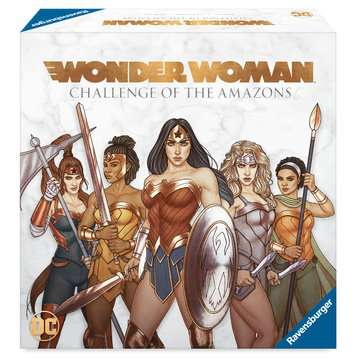 Wonder Woman™: Challenge of the Amazons Games;Strategy Games - image 2 - Ravensburger