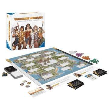 Wonder Woman™: Challenge of the Amazons Games;Strategy Games - image 4 - Ravensburger