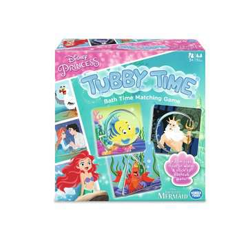 Disney Princess Tubby Time Bath Time Matching Game Games;Children's Games - image 1 - Ravensburger
