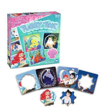 Disney Princess Tubby Time Bath Time Matching Game Games;Children's Games - image 4 - Ravensburger