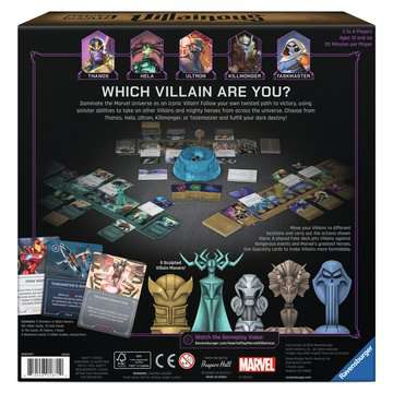 Marvel Villainous: Infinite Power Games;Strategy Games - image 2 - Ravensburger