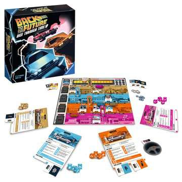 Back to the Future: Dice Through Time Games;Family Games - image 4 - Ravensburger