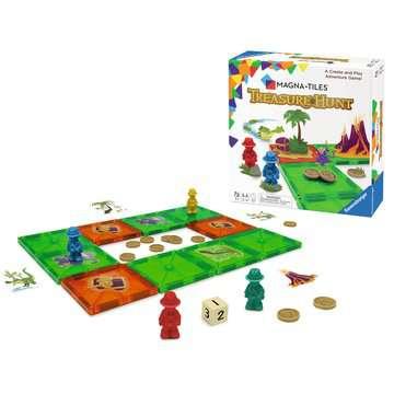 Magna-Tiles® Treasure Hunt Games;Children's Games - image 4 - Ravensburger