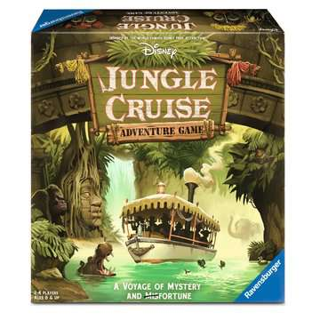 Disney Jungle Cruise Adventure Game Games;Family Games - image 1 - Ravensburger