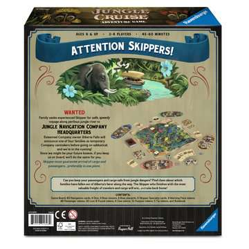 Disney Jungle Cruise Adventure Game Games;Family Games - image 2 - Ravensburger