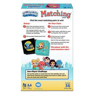 DC Super Friends Matching® Games;Children's Games - image 2 - Ravensburger