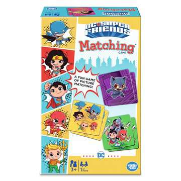 DC Super Friends Matching® Games;Children's Games - image 3 - Ravensburger