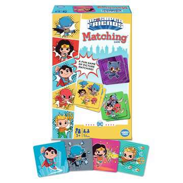 DC Super Friends Matching® Games;Children's Games - image 5 - Ravensburger