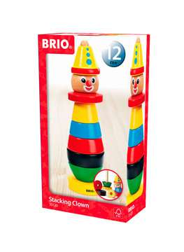 63012000 Baby und Vorschule BRIO Clown von Ravensburger 1