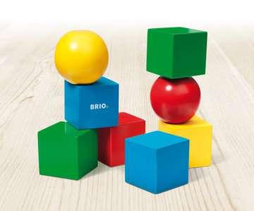 63012300 Baby und Vorschule Magnetische Holzbausteine von Ravensburger 3