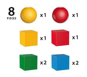 63012300 Baby und Vorschule Magnetische Holzbausteine von Ravensburger 4