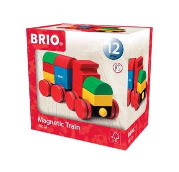63012400 Baby und Vorschule Magnetischer Holz-Zug von Ravensburger 1