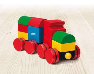 63012400 Baby und Vorschule Magnetischer Holz-Zug von Ravensburger 2