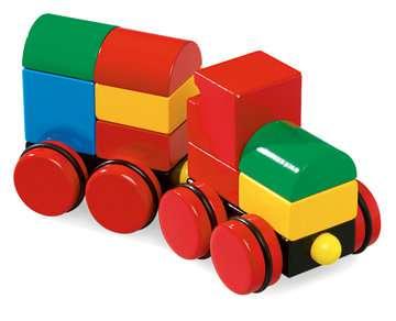 63012400 Baby und Vorschule Magnetischer Holz-Zug von Ravensburger 4