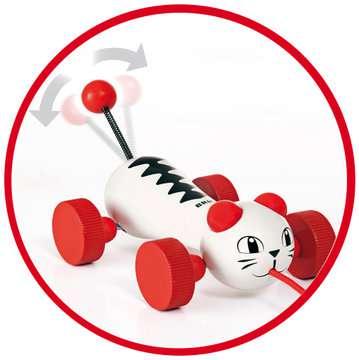 63018700 Baby und Vorschule Nachzieh-Katze von Ravensburger 4