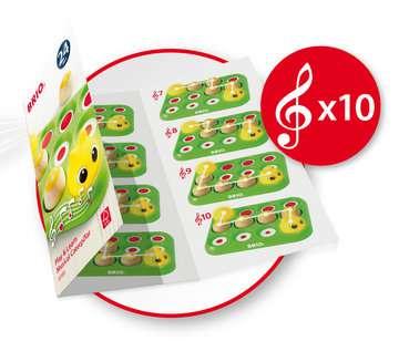 63018900 Baby und Vorschule Musikspiel Raupe von Ravensburger 5