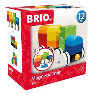 63024500 Baby und Vorschule Magnetischer Holz-Zug von Ravensburger 1