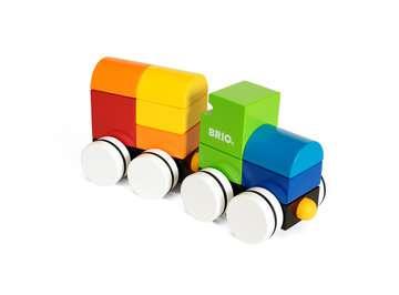 63024500 Baby und Vorschule Magnetischer Holz-Zug von Ravensburger 3