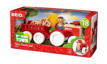 63026500 Baby und Vorschule My Home Town Traktor mit Pferde-Anhänger von Ravensburger 1