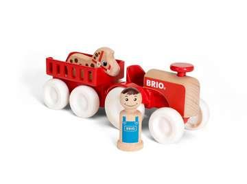 63026500 Baby und Vorschule My Home Town Traktor mit Pferde-Anhänger von Ravensburger 3