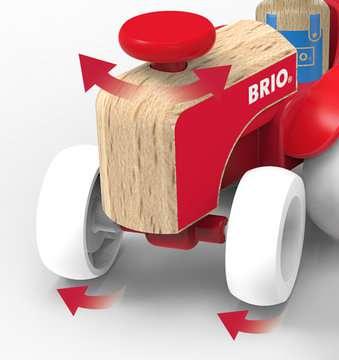 63026500 Baby und Vorschule My Home Town Traktor mit Pferde-Anhänger von Ravensburger 4
