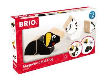 63026900 Baby und Vorschule Magnet-Tiere Hund und Katze von Ravensburger 1