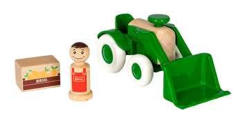 63030700 Baby und Vorschule My Home Town Traktor mit Frontlader von Ravensburger 2