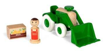 63030700 Baby und Vorschule My Home Town Traktor mit Frontlader von Ravensburger 3
