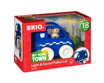 63037700 Baby und Vorschule My Home Town Polizei-Flitzer mit Licht & Sound von Ravensburger 1