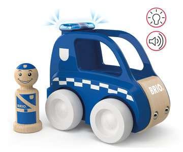 63037700 Baby und Vorschule My Home Town Polizei-Flitzer mit Licht & Sound von Ravensburger 4