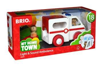 63038100 Baby und Vorschule My Home Town Krankenwagen mit Licht und Sound von Ravensburger 1