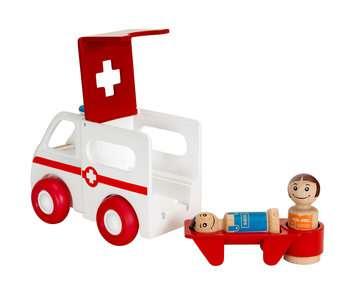 63038100 Baby und Vorschule My Home Town Krankenwagen mit Licht und Sound von Ravensburger 2