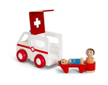 63038100 Baby und Vorschule My Home Town Krankenwagen mit Licht und Sound von Ravensburger 3