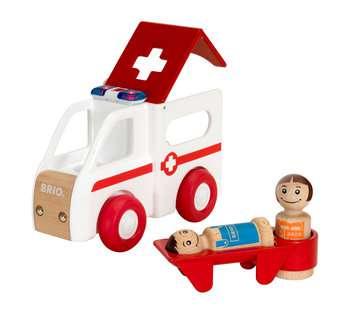 63038100 Baby und Vorschule My Home Town Krankenwagen mit Licht und Sound von Ravensburger 4