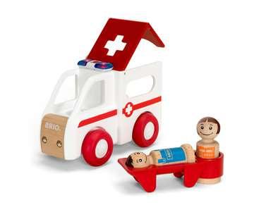 63038100 Baby und Vorschule My Home Town Krankenwagen mit Licht und Sound von Ravensburger 5