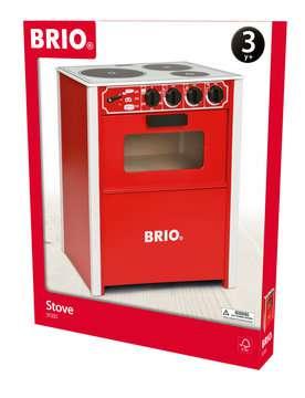 63135500 Rollenspielzeug BRIO Herd, rot von Ravensburger 1