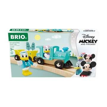 63226000 BRIO Eisenbahn Donald & Daisy Duck Zug von Ravensburger 1