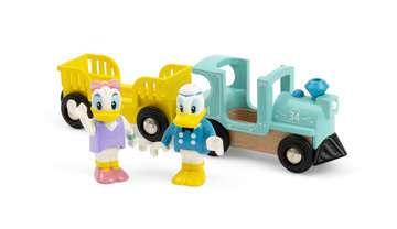 63226000 BRIO Eisenbahn Donald & Daisy Duck Zug von Ravensburger 4