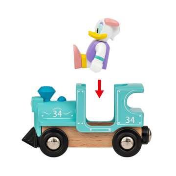 63226000 BRIO Eisenbahn Donald & Daisy Duck Zug von Ravensburger 5