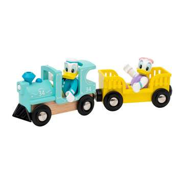 63226000 BRIO Eisenbahn Donald & Daisy Duck Zug von Ravensburger 6