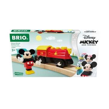 63226500 BRIO Eisenbahn Batteriebetriebener Micky Maus Zug von Ravensburger 1